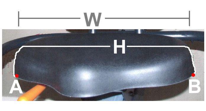 Recumbent Bike Seat Recumbent Seat Chart